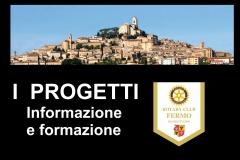 3.1.0 - I progetti - informazione e formazione