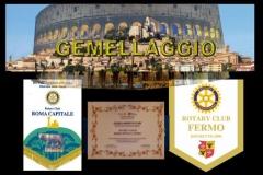 3.2.4 - Gemellaggio con il Rotary Club di Roma Capitale - 200