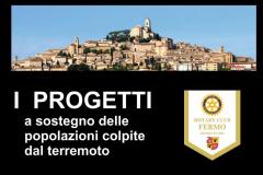 3.4.0 - I progetti - a sostegno delle popolazioni colpite dal terremoto