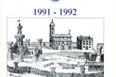 1991 -1992 - bollettino