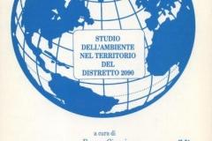 1995 - Studio dell'ambiente nel territorio del Distretto 2090