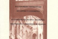 2000 - Congresso distrettuale