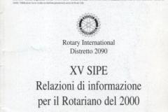 2000 - XV SIPE
