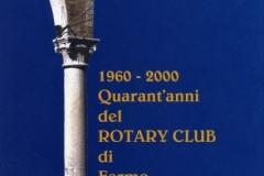 1960 - 2000 - Quarant'anni del Rotary Club di Fermo