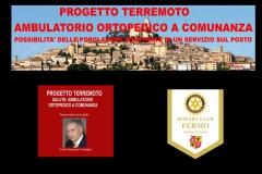 3.4.20 - Terremoto - Ambulatoirio Ortopedico a Comunanza