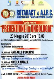 Prevenzione in oncologia