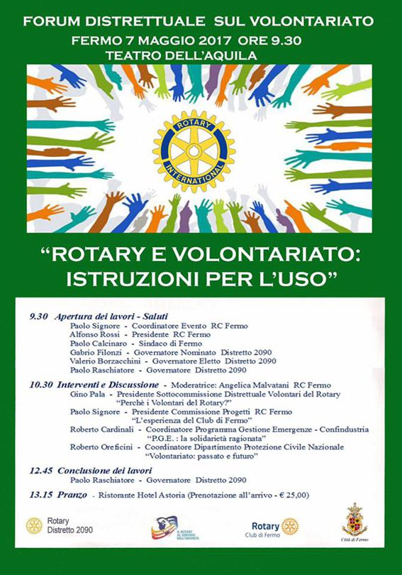 Rotary e volontariato