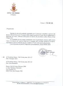 sindaco di Fermo - San Filippo